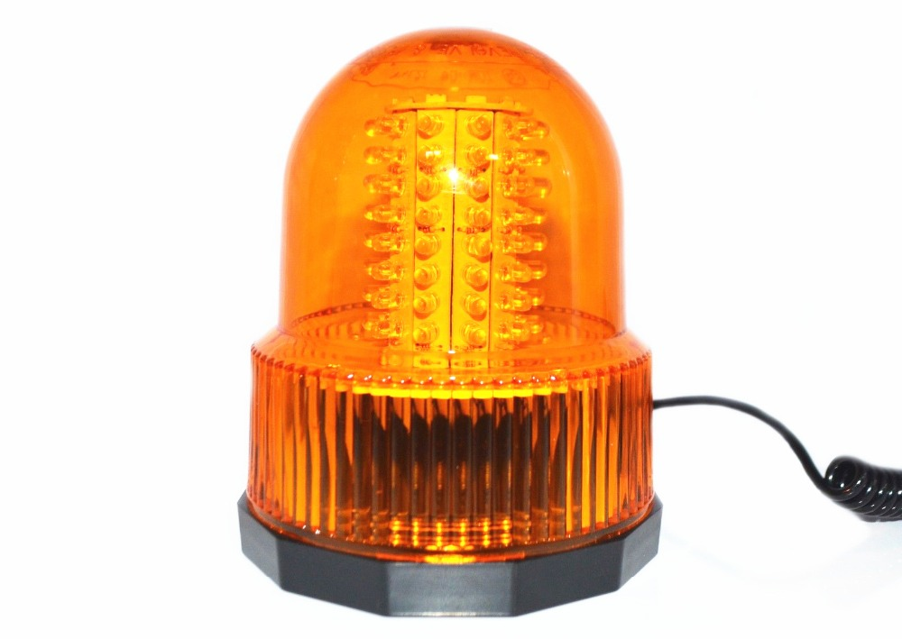 80 LED Car Truck Flash Warning Light Beacon Strobe Light Emergency Light Amber