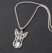 Silver Plated Dog Necklace