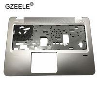GZEELE New For HP EliteBook 840 G3 Palmrest Cover Upper Case FPR Hole 821173 001 keyboard bezel silver