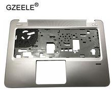 GZEELE yeni HP EliteBook 840 G3 Palmrest kapak üst durumda FPR delik 821173 001 klavye çerçeve gümüş