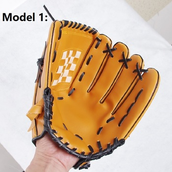 ZYMFOX Baseball Glove Catcher Gloves Softball Right Hand Gloves Exercise Equipment Sport Training Accessories Left/Right Hand