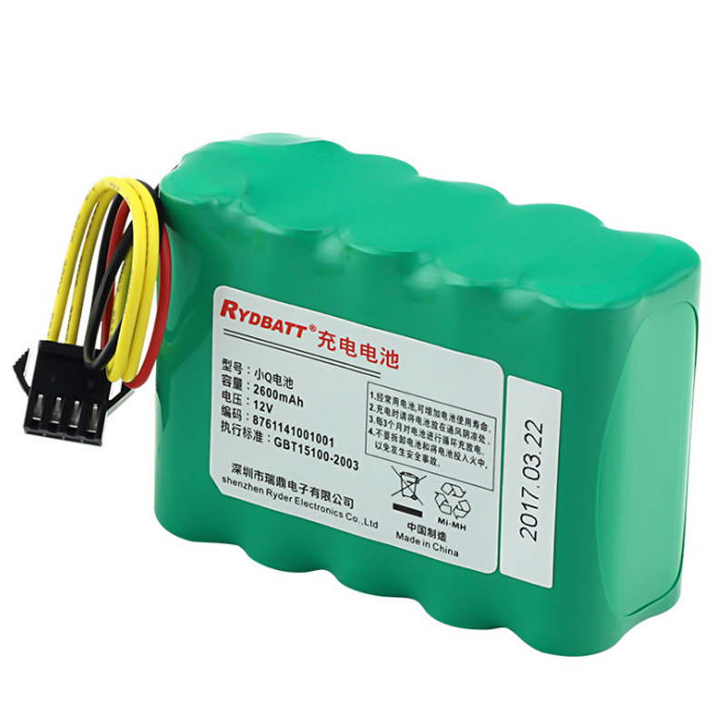 Sweeping robot battery For Cobos Ecovacs CR110 CEN30T CR03A CR100 Ni-MH 12V 2600mAh battery pack Sweeper Vacuum Cleaner Battery