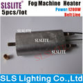 5pcs/lot 1200W smoke machine heater heating rod steam column hood accessories with Temperature control line heater