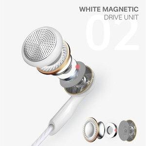 Image 4 - Fone de ouvido com fio, fone de ouvido intra auricular com fio e microfone, para telefone de 3.5mm