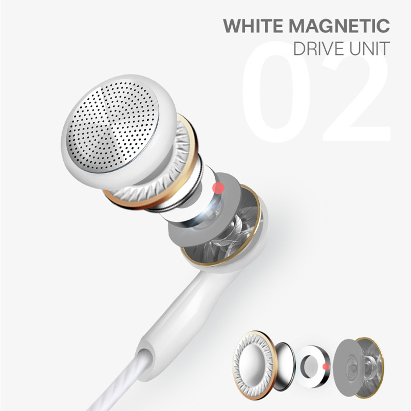 Image 4 - In Ear Earphone For Phone 3.5mm Stereo Headset Game Earphone Wired Headphone Hedset With Mic Earbuds Smartphone Earphones-in Headphone/Headset from Consumer Electronics