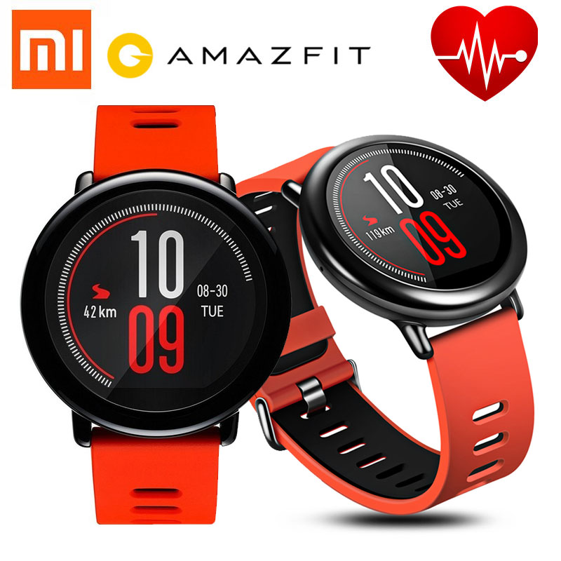 [English Version] HUAMI AMAZFIT Pace Sports Smart Watch Bluetooth 4.0 WiFi Dual Core 1.2GHz 512MB 4GB GPS Heart Rate Watch цена