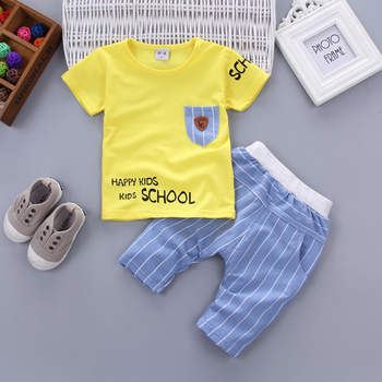 Newborn baby boy happy kid clothes sets for kids 3