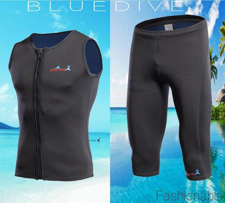 Новый стиль неопреновый жилет для Гидрокостюма + шорты для женщин 2 мм серфинг для купания костюм из двух частей для плавания Подводное плавание с длинными рукавами гидрокостюмы