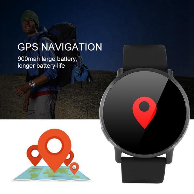 LEMFO 8MP Camera GPS Smart Watch / 4G LTE 5