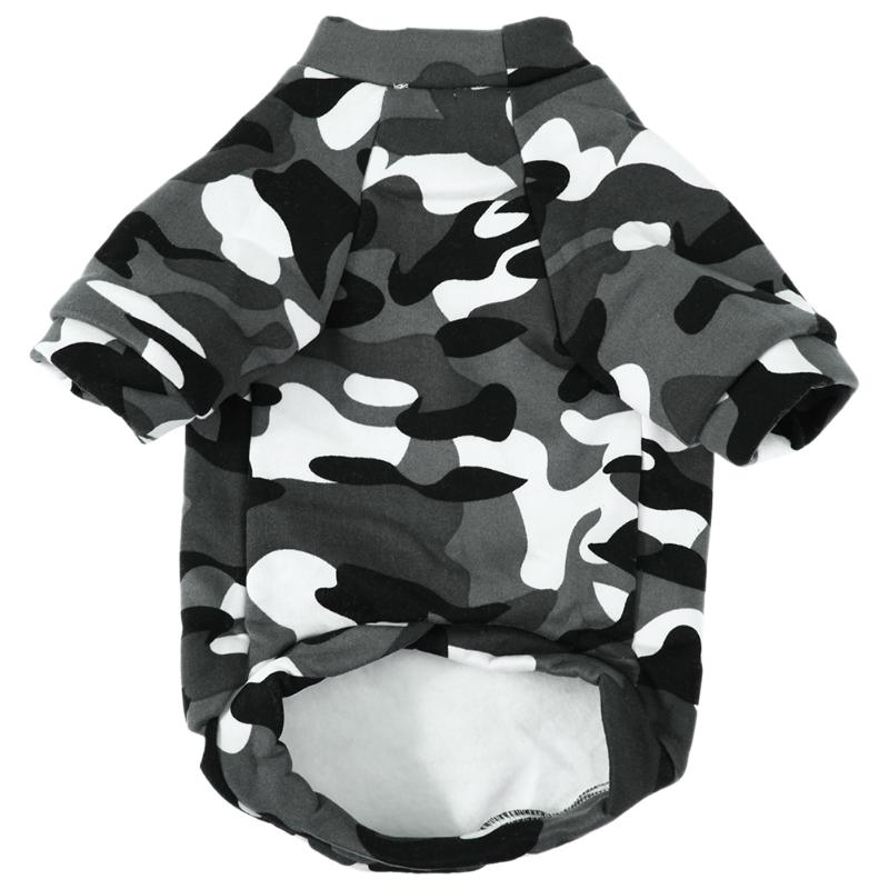 Camouflage Autumn Winter Dog Coat Hoodie Sweatshirt Cat Puppy
