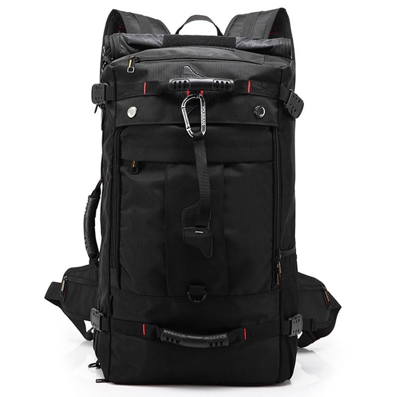 Men s shoulder travel bag waterproof travel large capacity multi functional computer bag 15 17 inch