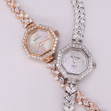 Royal Crown Lady Women's Watch Japan Quartz Jewelry Hours Fi