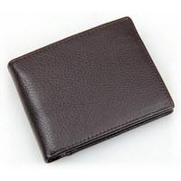 Men Wallet Genuine Leather Short Purse