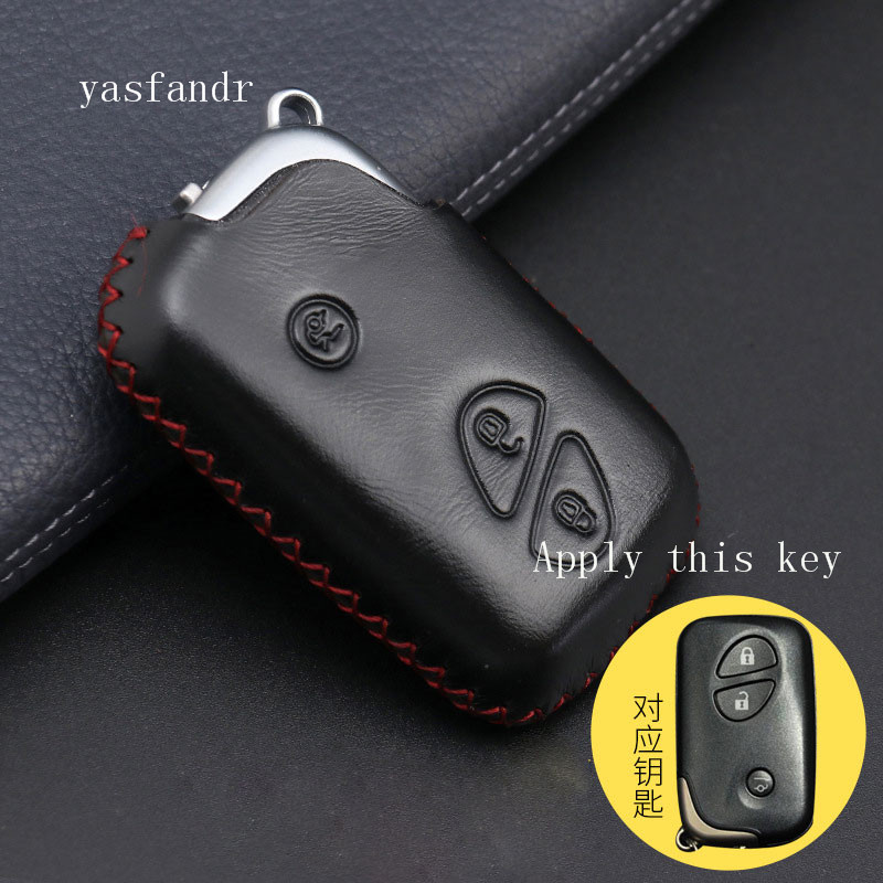 Car Key Cover For Lexus CT200H GX400 GX460 IS250 IS300C RX270 ES240 ES350 LS460 GS300 450h 460h Shell Case Interior Accessories-in Key Case for Car from Automobiles & Motorcycles
