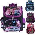 Mochila da escola dos miúdos monstro alta borboleta winx ortopédico EVA DOBRADO Crianças Escola Bags para meninos e Meninas mochila infantil
