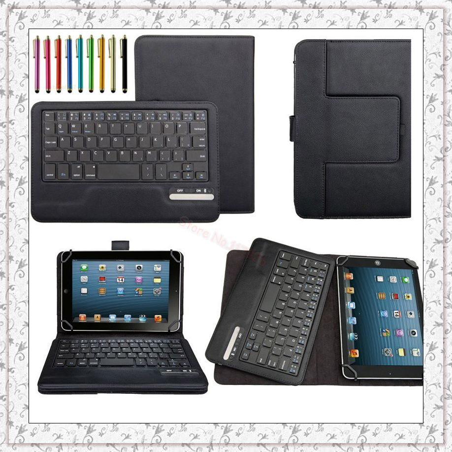 Universal 7 8 INCH Tablet PC Removable Bluetooth Keyboard ...