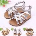 Новый девочка Prewalker обувь принцесса летом анти-слип трудно подошве новорожденный малыш дети ручной открытый летняя обувь обувь