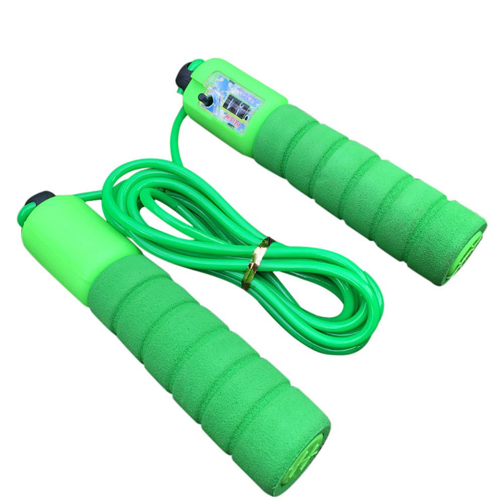 Skip rope utomatic Counting Skip Rope  Adjustable Length kids Children Fitness Weight Loss Exercise Non Winding Bearing Rope skipping rope