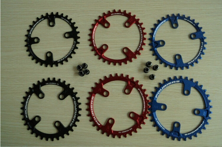 ФОТО FOURIERS MTB Chainring Chain guard Mountain Bicycle Parts Chainwheel Crankset 30T/32T/34T/36T