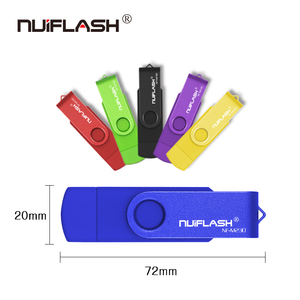 Image 4 - Nuiflash 2 in 1 OTG USB Flash Drive 128GB 64GB 32GB 16GB 8GB Pen drive Smart Phone External Storage Pen Drive Android USB Stick