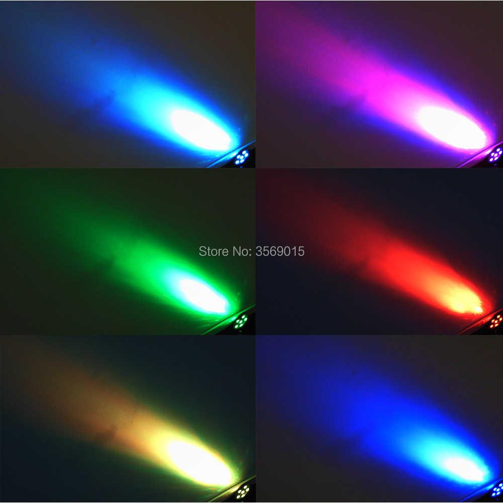 Phẳng 6 Led Par Stage Ánh Sáng RGB 36 Wát Disco Đảng Lights Laser Dmx Luz Hiệu Lực DJ Điều Khiển Dj Thiết Bị chiếu