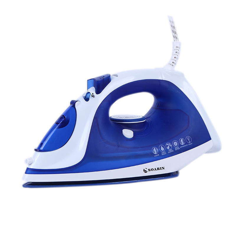 Electric Teflon Steam Iron Ceramic Clothes Iron Adjustable Handheld Iron Steamer Mechanical Timer Control Irons Steam Ferro