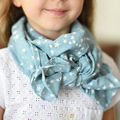 The new soft and comfortablechildren 's scarf Boy and girl children' s wild breathable cotton scarves