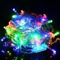 20 pc 400 LED 50 M cordas luzes de natal Xmas 160ft Garland partido decoração do casamento decoração vermelho azul branco amarelo rosa