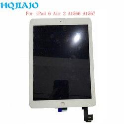 Dla Apple iPad 6 Air 2 A1567 A1566 montaż wyświetlacz LCD ekran dotykowy Digitizer Tablet panele LCD dla iPad 6 Air 2 9.7 ''naprawa w Ekrany LCD i panele do tabletów od Komputer i biuro na