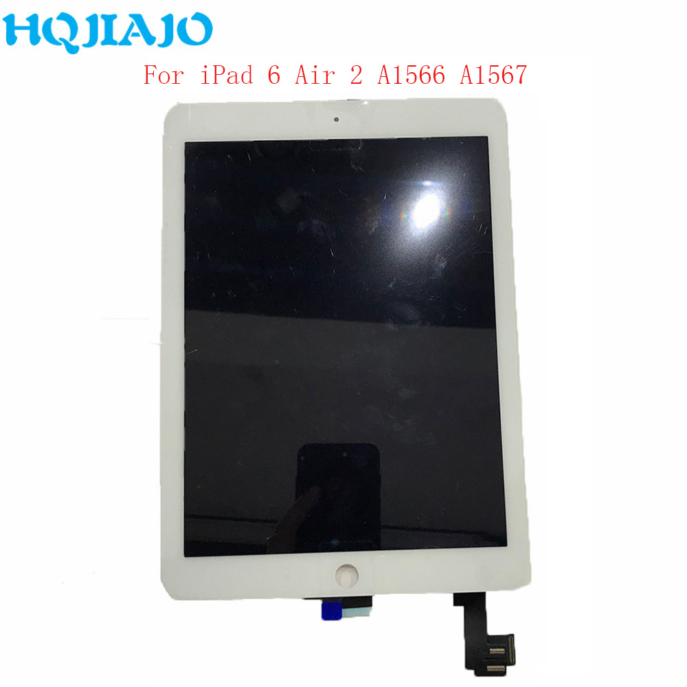For Apple iPad 6 Air 2 A1567 A1566 Assembly LCD Display Touch Screen Digitizer Tablet LCD Panels For iPad 6 Air 2 9.7 RepairFor Apple iPad 6 Air 2 A1567 A1566 Assembly LCD Display Touch Screen Digitizer Tablet LCD Panels For iPad 6 Air 2 9.7 Repair