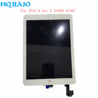 For Apple iPad 6 Air 2 A1567 A1566 Assembly LCD Display Touch Screen Digitizer Tablet LCD Panels For iPad 6 Air 2 9.7'' Repair