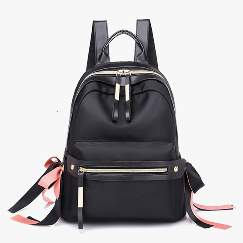 Casual Youth Nylon Fashion style Women School Backpack for Girls Waterproof Back Pack Fashion Female