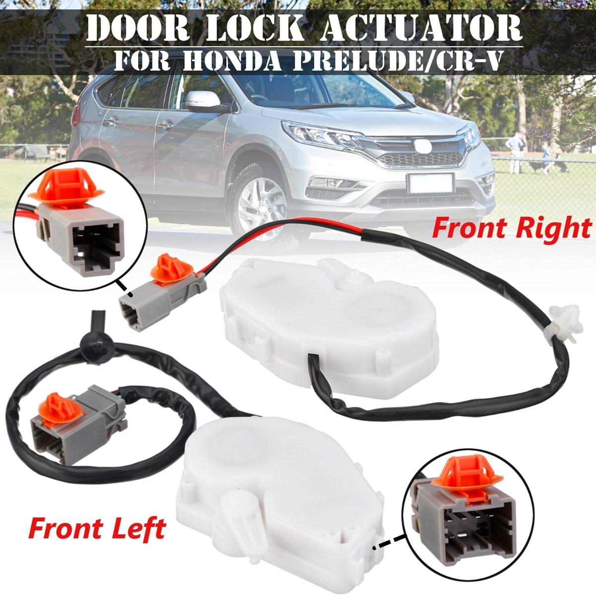 Car Front Right Left Power Door Lock Actuator For Honda