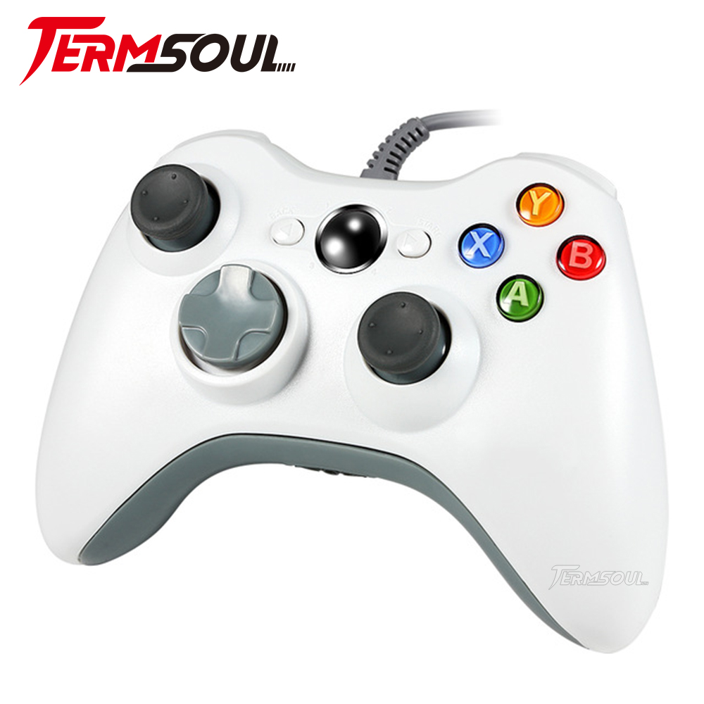 SL11 Wired USB Pad Joypad Game Controller For Microsoft Xbox 360&PC Windows usb gaming controller
