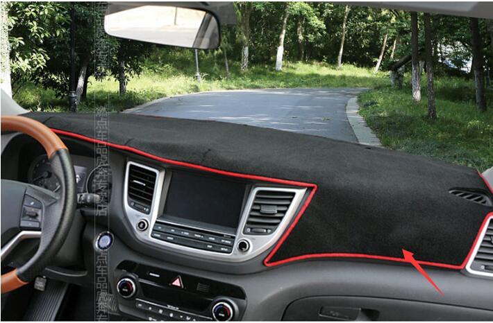 Costante Auto-styling Caso Per Hyundai Tucson 2015-2017 New Cruscotto Tappeto Di Protezione Pad Decorazione Di Interni Forniture Estive