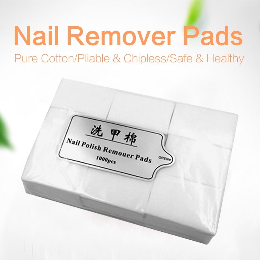 Blinkande Nails Lintfria Nail Wipes Fiber Nail Remover Cleaner Nail - Nagel konst