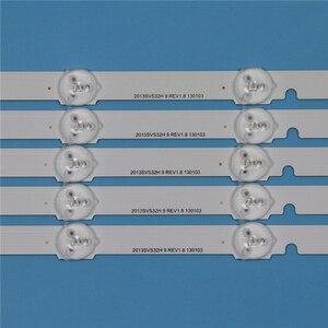 Image 2 - 9 lampen Led hintergrundbeleuchtung Streifen Für Samsung UE32F6270SS UE32F6330AK UE32F6800SB UE32F6670SB UE32F6510SS Bars Kit Fernsehen FÜHRTE Band