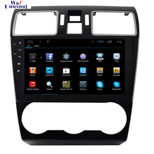 NaviTopia 9inch 1024*600 Quad Core Android 4.4/6.0 Car Radio Multimedia Video Player for Subaru Forester 2015 XV,No DVD CD