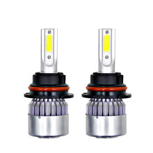 2pcs H7 H4 H11 H1 H3 H13 Auto Bulbs LED Headlight 880 9004 9005 9006 9007 9003 HB1 HB2 HB3 HB4 H27 LED Car Lamps for BMW Audi(China)