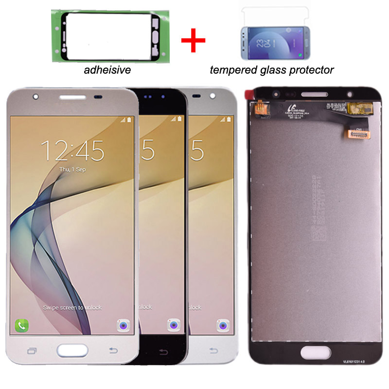 Original For Samsung Galaxy J7 Prime G610 G610F G610K G610L G610S LCD  Display with Touch Screen Digitizer Assembly