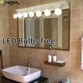 Современный минималистичный зеркальный светильник  настенные лампы для ванной  светодиодные настенные лампы для ванной  санузел  гардероб...