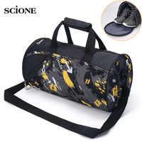 Sports Gym Bag Fitness For Women Men Bags Yoga Nylon Travel Training Ultralight Duffle Shoes Small Sac De Sport 2019 Tas XA6WA