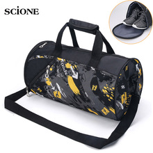 Sports Gym Bag font b Fitness b font For Women Men Bags Yoga Nylon Travel Training