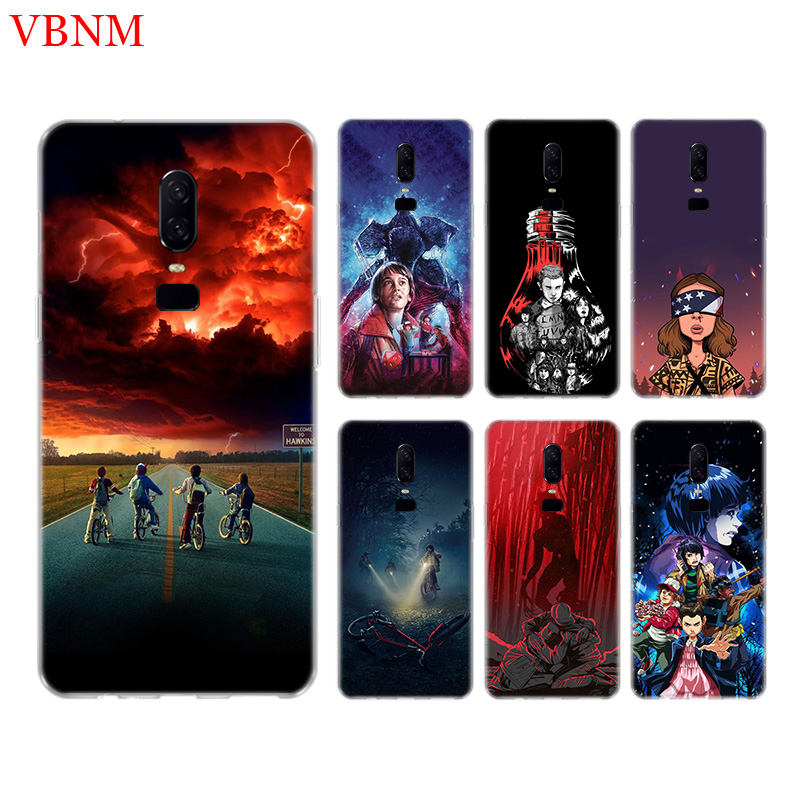 Stranger Things Poster Phone Back Case For font b OnePlus b font font b 7 b
