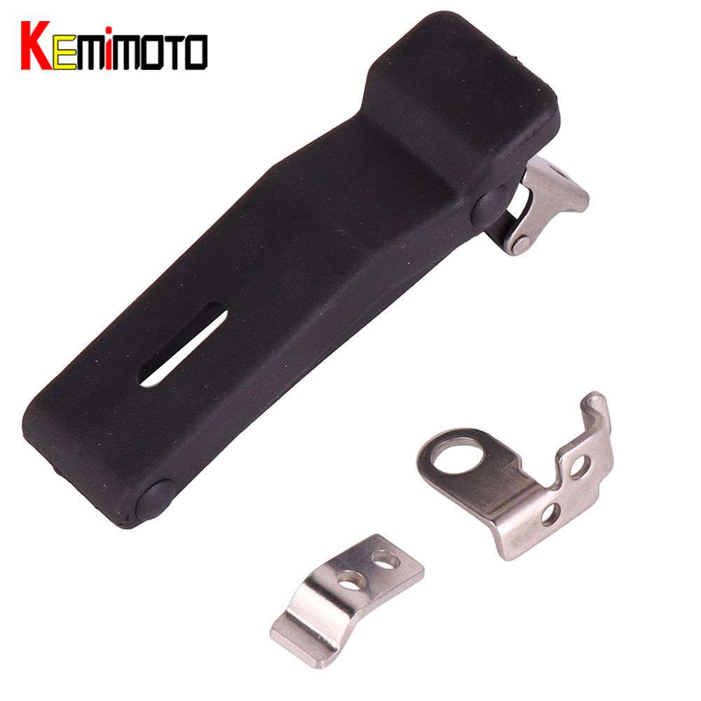 KEMiMOTO Front Storage Rack Rubber Latch for Polaris Sportsman 500 550 800 850 1000 7081927 XP Touring and X2 models