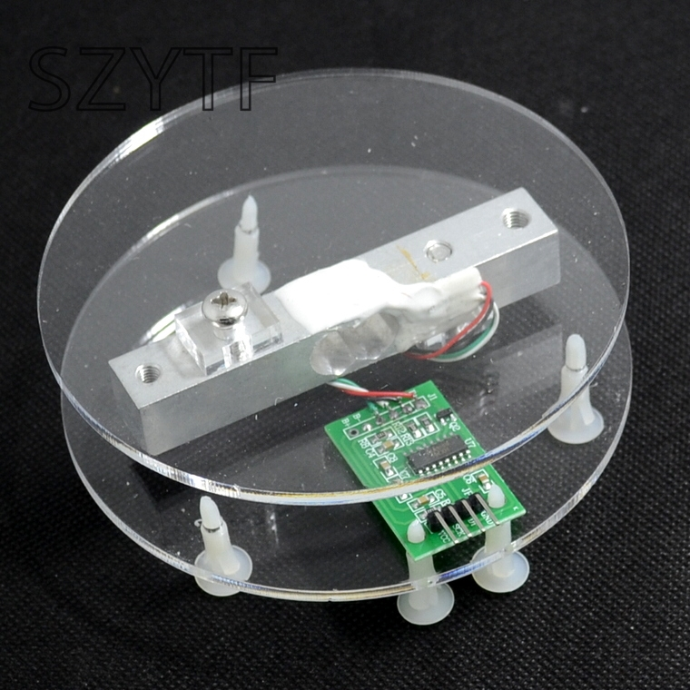 5KG 10KG 20KG  pressure sensor + HX711AD module weighing electronics accessories feeder lines and DuPont5KG 10KG 20KG  pressure sensor + HX711AD module weighing electronics accessories feeder lines and DuPont