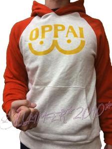 Image 3 - New Anime One Punch Man Saitama Oppai Hoodie Pullover Sweatshirt Cosplay Costume