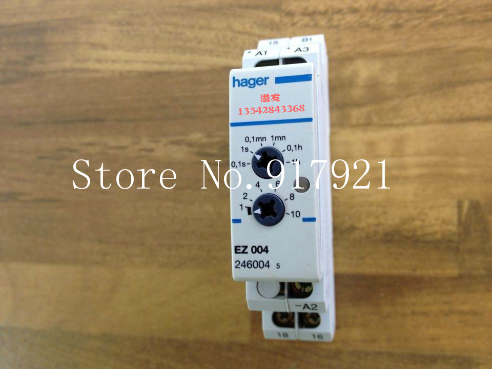 [ZOB] Hagrid EZ004 time delay relay timing relay 1NO-0.1S-10H can replace EZN004 cтеппер bs 803 bla b ez