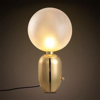 Nordic Lampy Stołowe Led Projekt Złoty Lampy Biurko Nowoczesne Biurko Metalowe światła Badania Pokój Sypialnia Salon Biurko Oprawy Oświetleniowe