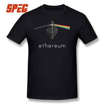 T-Shirt Ethereum Prism Rainbow
